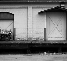 A Tractor and a Door  by Robert Meyers-Lussier