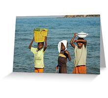 Malawi Boys Greeting Card