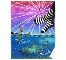 Fantasy Ocean Poster