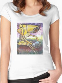 far future Women's Fitted Scoop T-Shirt