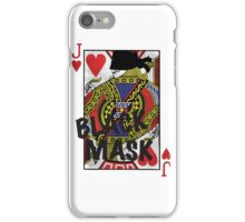 Who is the Black Mask? iPhone Case/Skin