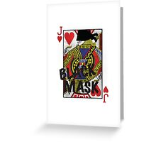 Who is the Black Mask? Greeting Card