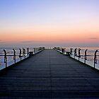 Saltburn Pier Sunset by Richard Leeson