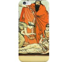 The Sleeping Beauty Picture Book Plate - That They The Child Might Bless iPhone Case/Skin