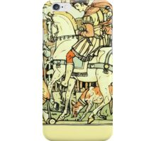 The Sleeping Beauty Picture Book Plate - An Aged Peasant Told of an Enchanted Palace iPhone Case/Skin