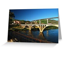 River Douro, Portugal Greeting Card