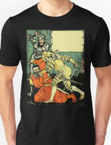 The Sleeping Beauty Picture Book Plate - Bluebeard - The Cut The Murderer Down T-Shirt