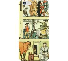 The Sleeping Beauty Picture Book Plate - The Baby's Own Alphabet - Hh Ii Jj iPhone Case/Skin
