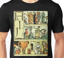 The Sleeping Beauty Picture Book Plate - The Baby's Own Alphabet - Hh Ii Jj Unisex T-Shirt