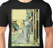 The Sleeping Beauty Picture Book Plate - Bluebeard - And This You Must Not Open, Or You Will Repent It Sore Unisex T-Shirt