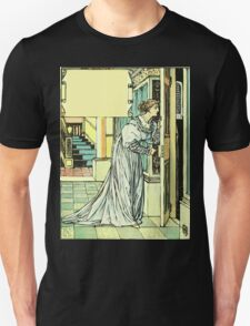 The Sleeping Beauty Picture Book Plate - Bluebeard - And This You Must Not Open, Or You Will Repent It Sore T-Shirt