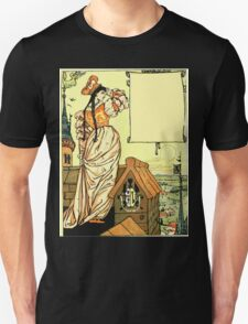 The Sleeping Beauty Picture Book Plate - Bluebeard - O Sister Anne, Go Up, Go Up, And Look Out From The Tower T-Shirt
