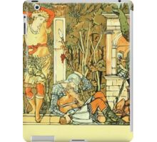 The Sleeping Beauty Picture Book Plate - And All Around Her Sink To Rest - A Palace Of The Dead iPad Case/Skin