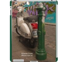Alley Scooter iPad Case/Skin
