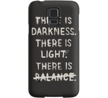 NO BALANCE Samsung Galaxy Case/Skin
