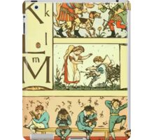 The Sleeping Beauty Picture Book Plate 010 - The Baby's Own Alphabet - Kk, Ll, Mm iPad Case/Skin