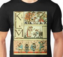 The Sleeping Beauty Picture Book Plate 010 - The Baby's Own Alphabet - Kk, Ll, Mm Unisex T-Shirt