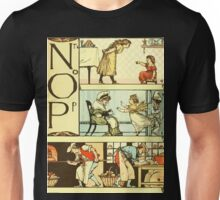 The Sleeping Beauty Picture Book Plate 011  - The Baby's Own Alphabet - Nn, Oo, Pp Unisex T-Shirt