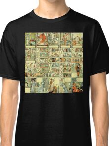 The Sleeping Beauty Picture Book Plate - All Portrait Plates Classic T-Shirt