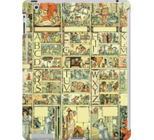 The Sleeping Beauty Picture Book Plate - All Portrait Plates iPad Case/Skin