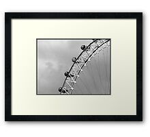 View Of The London Eye 1 Framed Print
