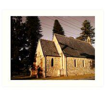 All Saints Church Art Print