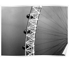 View of The London Eye 2 Poster