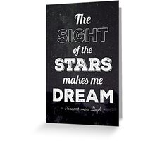 Sight of Stars Greeting Card