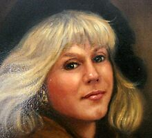 Detail Selfportrait by Cathy Amendola
