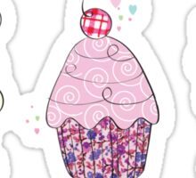 Cup cakes Sticker