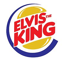 Elvis the Burger King by monsterplanet