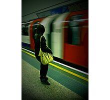 Tube Portrait. Photographic Print