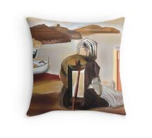The Wounded Woman Throw Pillow