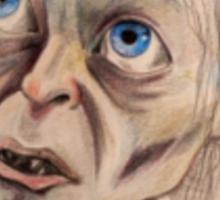 Gollum Smeagol LOTR the Hobbit Sticker