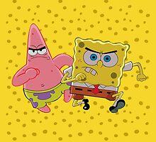 Sponge Bob and Patric by KisukeMischa