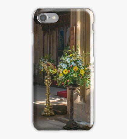 Parish Church of St John Baptist    Cirencester  England iPhone Case/Skin