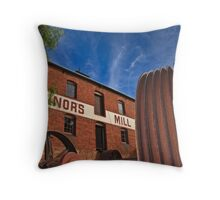 A time gone by Throw Pillow