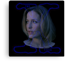 X-Files Scully now Canvas Print