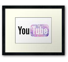 Pastel Cloud YouTube Framed Print