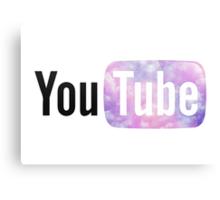 Pastel Cloud YouTube Canvas Print