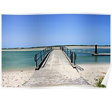 Golden Beach Jetty Poster