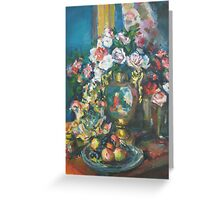 Korovin. ROSE 1915  (author's copy) Greeting Card