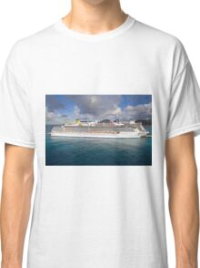 Costa Ship in St Maarten Classic T-Shirt