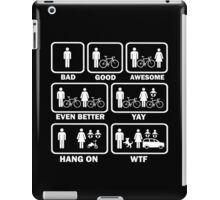 Funny Cycling T Shirt iPad Case/Skin