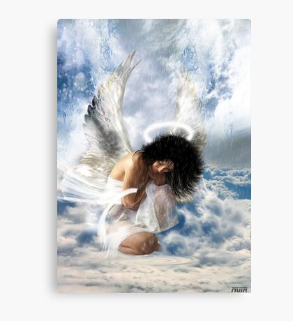 It sometimes rains in heaven... (love hurts) Canvas Print