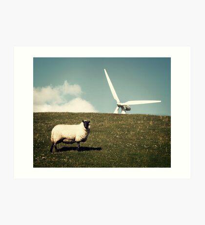 Wind - Farm Art Print