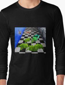 The Grass Spill Tee Long Sleeve T-Shirt