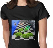 The Grass Spill Tee Womens Fitted T-Shirt