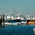 Offshore Fishing Boats by hatterasjack