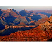 Mather Point Sunset, Grand Canyon Photographic Print